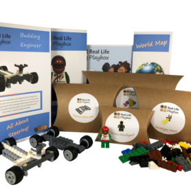Real Life Bricks Membership with Monthly Real Life Playbox